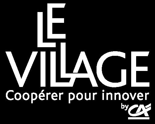 Logo Village by CA Blanc
